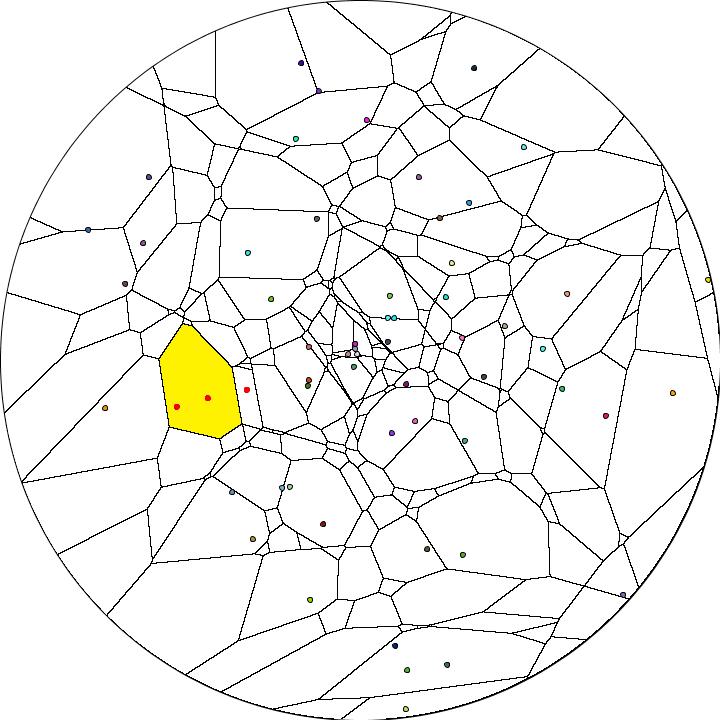 Visualizing Hyperbolic Voronoi Diagrams